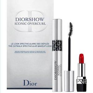 $29.5 手慢无Dior 睫毛膏唇膏美妆套装上新热卖