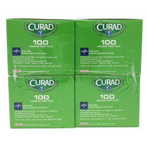 Curad  酒精清潔棉片 400片