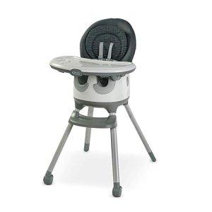 $105.17(原价$149.99)史低价:Graco Floor2Table 7 合1 儿童高脚餐椅