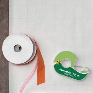 $2.94Duck Brand Matte Finish Invisible Tape With Dispenser