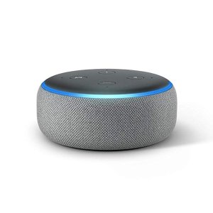 AmazonEcho Dot (3rd Gen) - Smart speaker with Alexa - Heather Gray