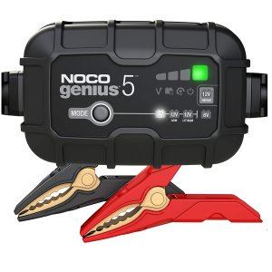 NOCO GENIUS5, 5-Amp Fully-Automatic Smart Charger