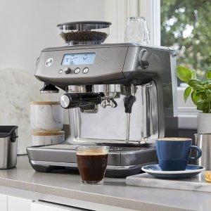额外9折 $186.3收意式咖啡机闪购:Breville 铂富小家电热卖 收火锅电锅、意式咖啡机
