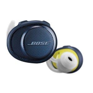 Bose蓝色款,运动无线耳机