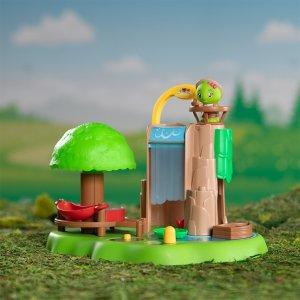 送动物公仔套装瀑布玩具