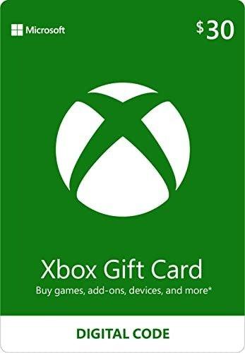 $30 Xbox 数字礼卡