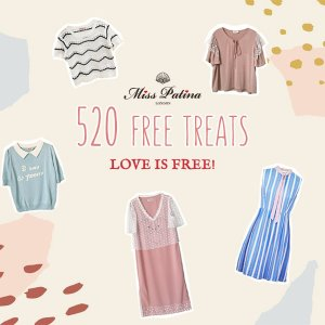 Dealmoon 520 Exclusive!Free Gifts with Purchases £100+ @ Miss Patina