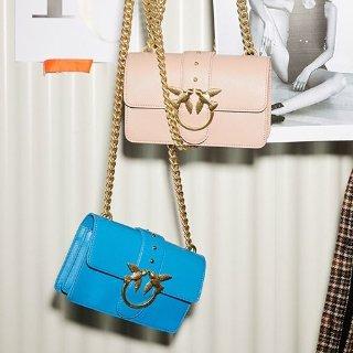 低至3折  经典燕子包$275起Pinko手袋精选 网红燕子包低价收,新款马蹄燕子包也参加