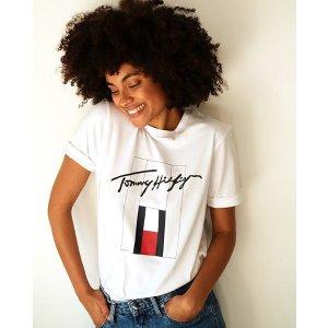 低至25折+额外8折Tommy Hilfiger & Calvin Klein 热促中 超值价入T恤、牛仔裤、卫衣