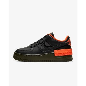 NikeAF1 Shadow 黑橙色