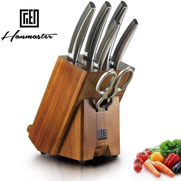 鈢系列高端厨房刀具7件套