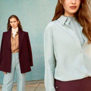 额外7折 $41收羊毛针织衫H&M 新款复古文艺风秋装抢鲜热卖