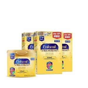 $109Enfamil PREMIUM Non-GMO Infant Formula, Powder 121.8 Ounce