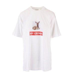 Burberry杨幂同款!小鹿T恤