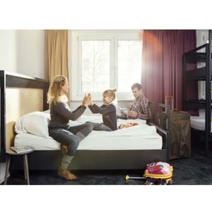 可免费带2个18岁以下儿童A&O酒店双人间1晚住宿代金券只要49欧 有效期3年