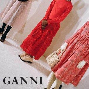 低至5折 £52收上衣Ganni 丹麦小众设计折扣上线 白菜价超级划算 快来康康