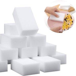 SmilePowo 100 Pack Magic Sponge Eraser