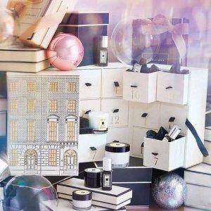 含15瓶9ml香!一次收齐!上新:祖马龙 圣诞日历发售+附产品清单!限量套装上新!