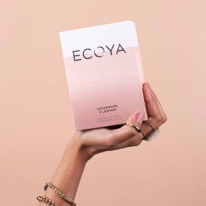 7.5折 不含铅 无黑烟ECOYA 澳新知名香氛品牌热卖 蜡烛、扩香藤条 最佳伴手礼