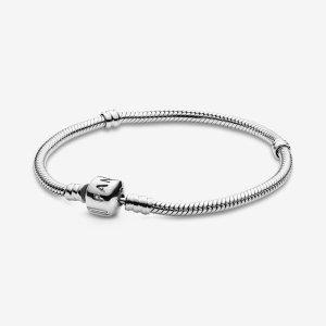 Pandora变相8折 手链+2串珠£99入Moments 裸链