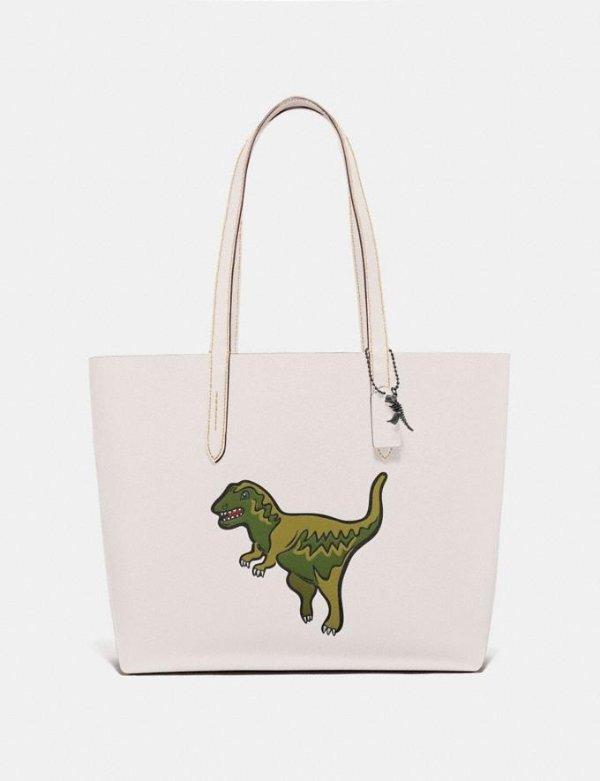 小恐龙tote包