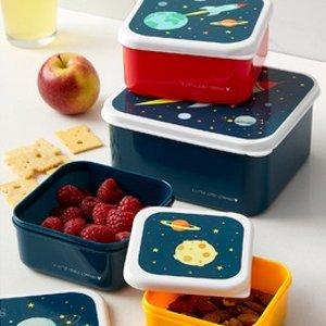 4件套仅$15上新:Simons 儿童餐盒  Pick 外太空 or 小动物