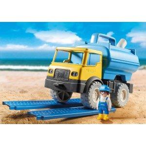 沙滩 洒水车