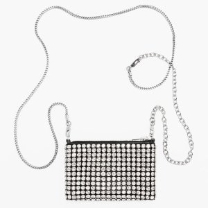 低至7.5折+包税独家:Alexander Wang 美包服饰专场 新款钻石单肩包$396