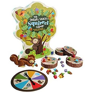 Amazon.com: Educational Insights The Sneaky, Snacky Squirrel Toddler & Preschool Board Game: Toys & Games