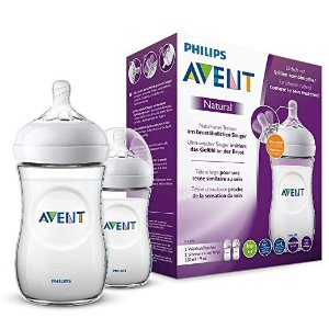 Philips AventPhilips Avent Natural Flasche SCF033/27, 260 ml奶瓶 2支