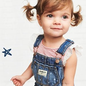 50% Off + Extra 20% Off $40+Extra 20% Off Clearance Memorial Day Sale @ OshKosh BGosh
