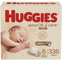 Huggies 宝宝湿巾,敏感肌可用,56*6