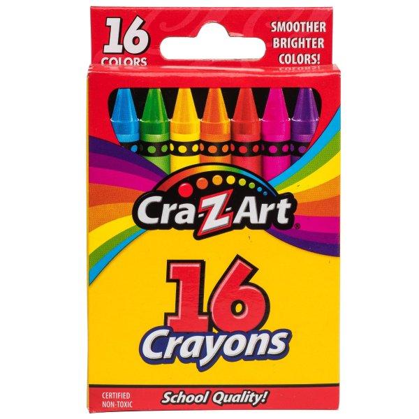 16色蜡笔