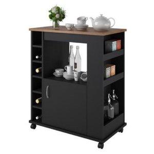 $79(原价$99.99)Dorel Home Furnishings 厨房多功能滚轮橱柜