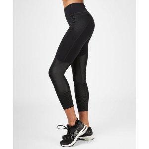 黑色运动leggings