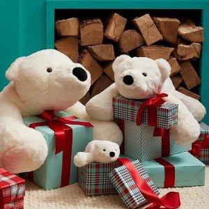 低至34折 全场免邮折扣升级:母婴产品促销  超萌宝宝浴袍 $5收封面小熊