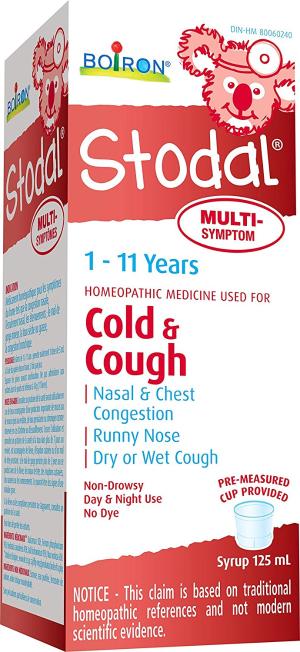 $7.49Boiron Stodal儿童止咳糖浆 缓解多种症状