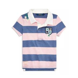 低至6折+ 额外6折Polo Ralph Lauren 儿童服饰促销 polo衫价格超好