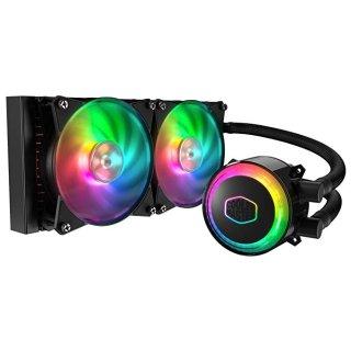 $89.99 (原价$119.99)史低价:Cooler Master MasterLiquid ML240R RGB CPU 水冷散热器
