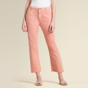 Donna Karan微喇牛仔裤