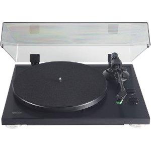 $149.95(原价$449.99) 无税包邮Teac 两速 黑胶唱片机 双色可选