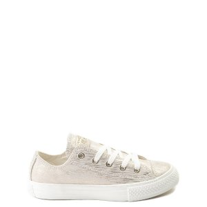 ConverseChuck Taylor All Star Lo Brushed Suede Sneaker - Little Kid
