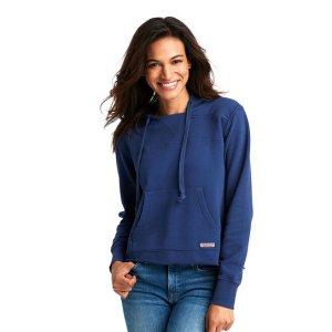 Vineyard VinesOver-Dyed Beach Hoodie Shep Shirt
