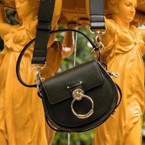 3折起+全场8.5折 £280收小猪腰包独家:Chloe 全场新品大促 收爆款Faye、C扣包、花瓣鞋、墨镜等