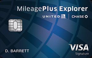 Earn 40,000 bonus milesUnited MileagePlus® Explorer Card
