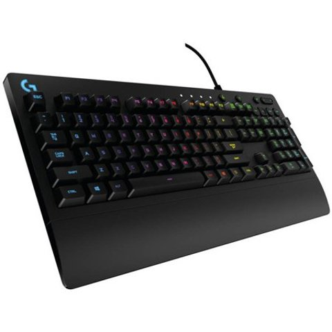 Logitech G213 Prodigy RGB 幻彩 游戏键盘