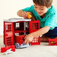 Green Toys 消防站玩具套装