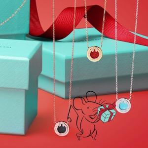 红心项链$225收Tiffany & Co 情人节限定登场 唯爱与珠宝永存 最经典定情信物