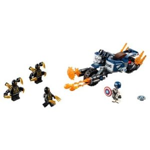 LegoCaptain America: Outriders Attack - 76123 | Marvel Super Heroes | LEGO Shop