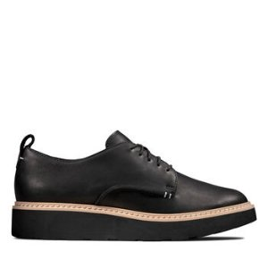 Clarks厚底鞋